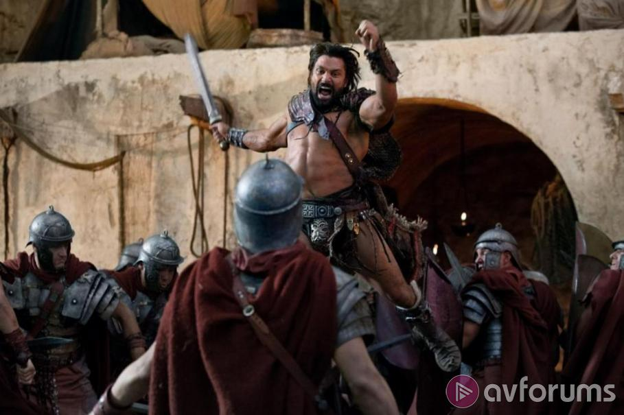 Spartacus: War of the Damned Blu-ray Review