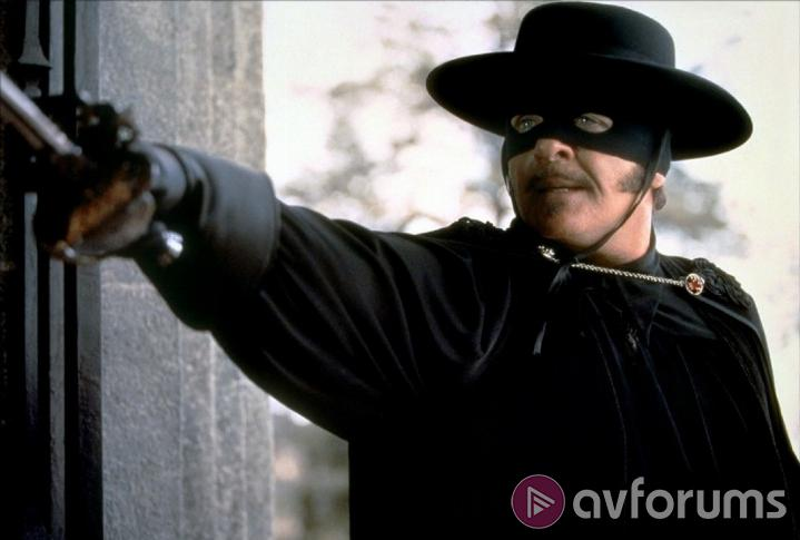 The Mask Of Zorro Extras