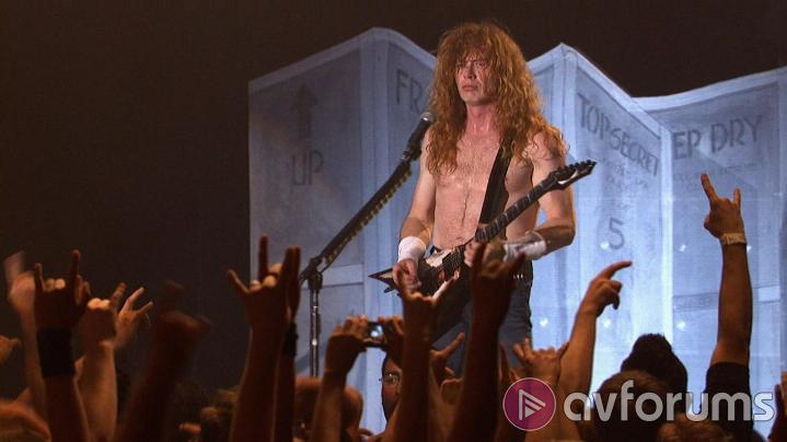 Megadeth: Rust In Peace Live Sound