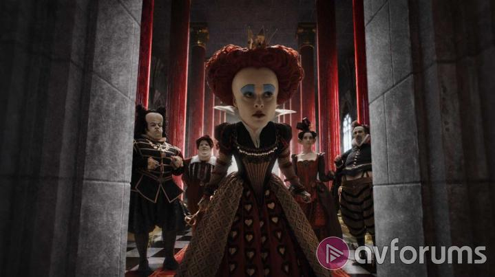 Alice in Wonderland 3D Extras