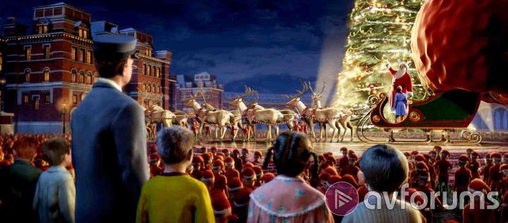 The Polar Express 3D Extras