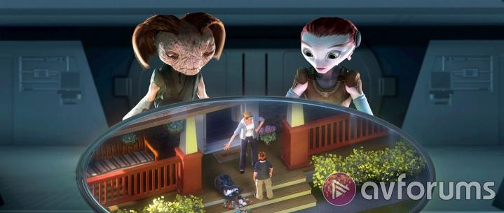 Mars Needs Moms 3D Extras