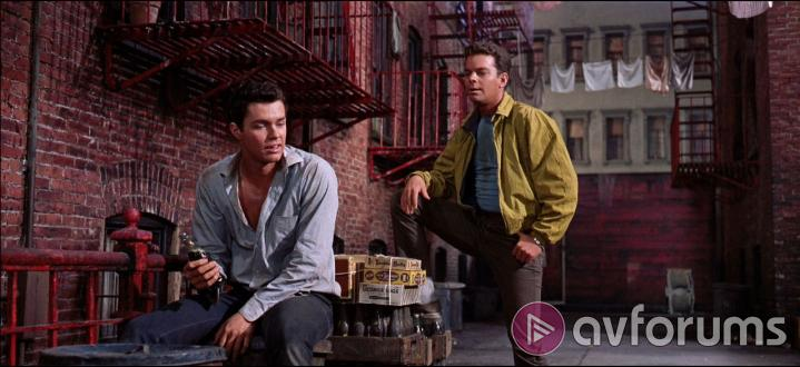 West Side Story Extras