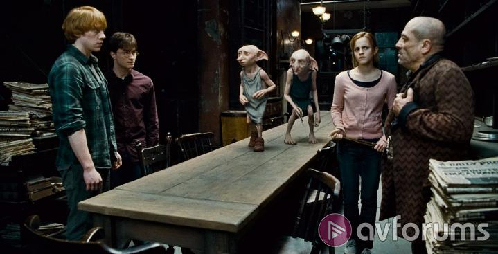 Harry Potter and the Deathly Hallows: Part 1 3D Extras