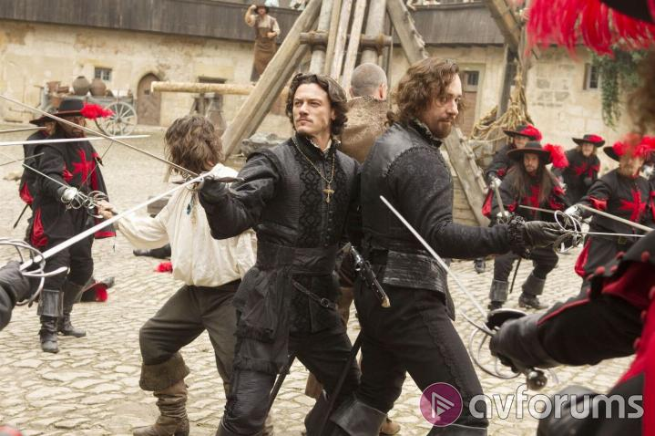The Three Musketeers 3D Picture