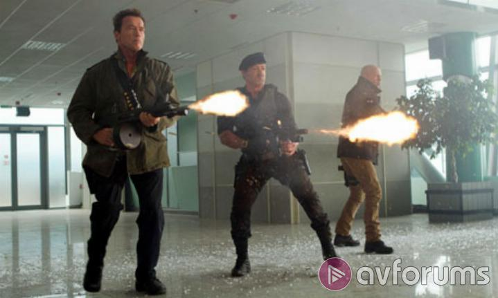 The Expendables 2 Extras