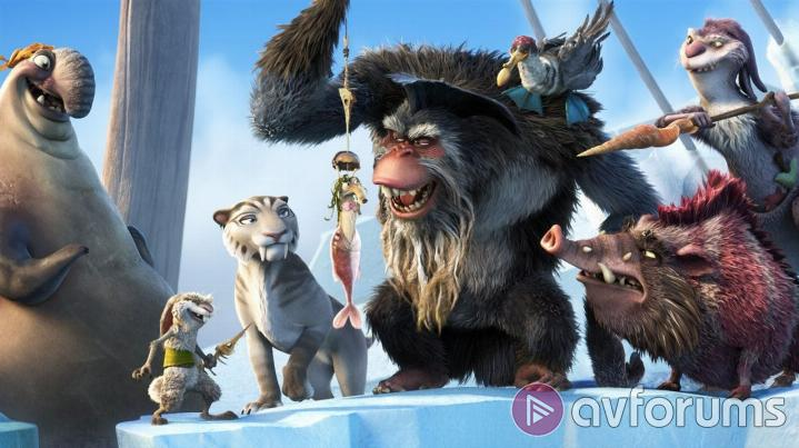 Ice Age: Continental Drift 3D Sound