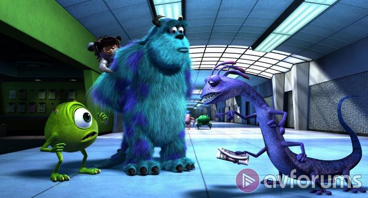 Monsters, Inc. 3D Extras