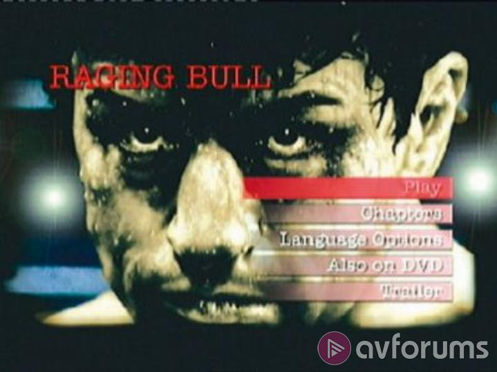 Raging Bull: 20th Anniversary Special Edition Picture
