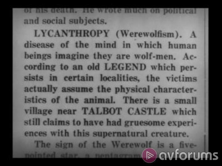 Wolf Man, The/Werewolf Of London Picture