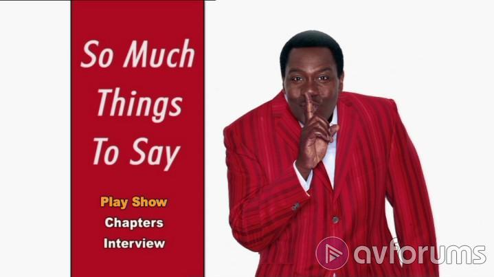 Lenny Henry Live: So Much Things To Say Picture