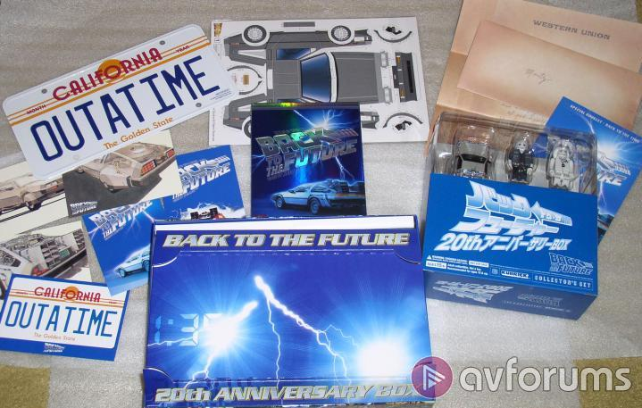 Back To The Future Trilogy 20th Anniversary Box Set Picture