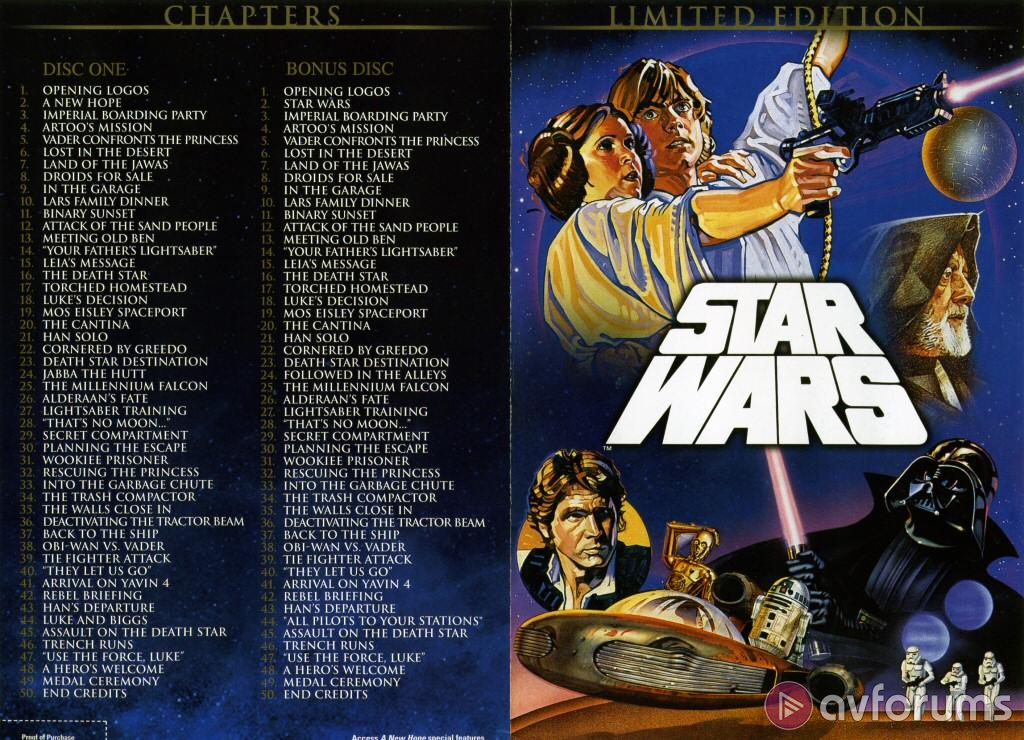 Star Wars on DVD - Reviews - Star Wars Trilogy Limited Edition
