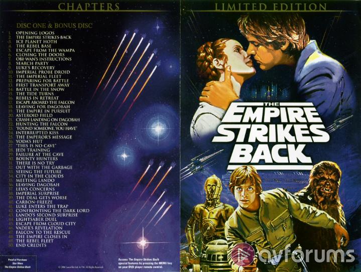 Star Wars: Episode V - The Empire Strikes Back : Limited Edition Picture