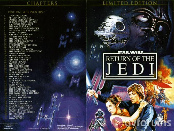Star Wars: Episode VI - Return Of The Jedi : Limited Edition Picture