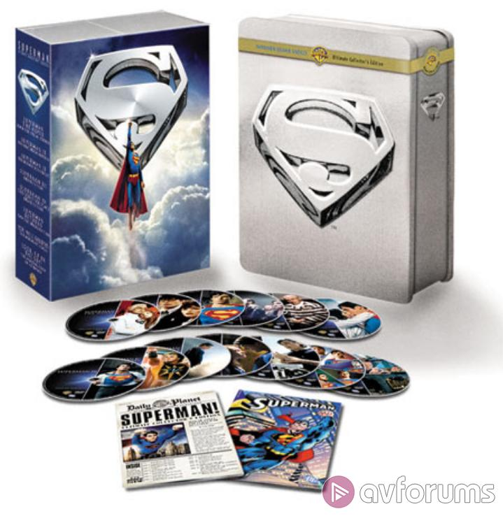 Superman: 14 Disc Ultimate Collector