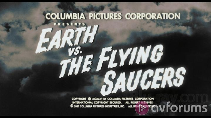 Earth Vs. The Flying Saucers Extras