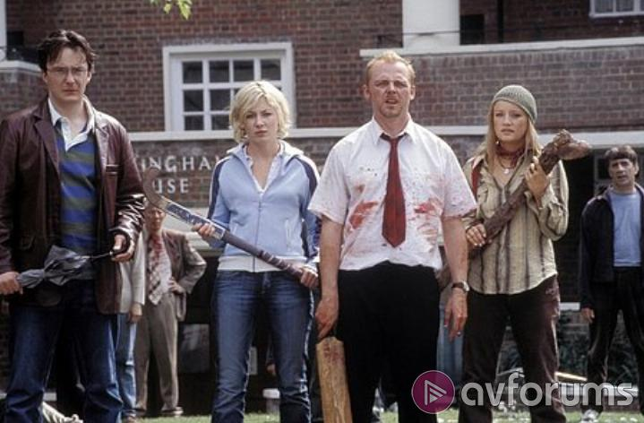 Shaun Of The Dead Extras