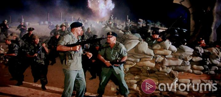 The Green Berets Extras