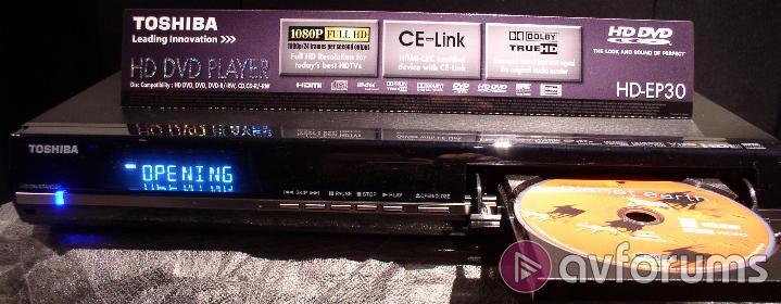 Toshiba hd ep30 hd dvd player review avforums toshiba hd ep30 setup publicscrutiny Image collections