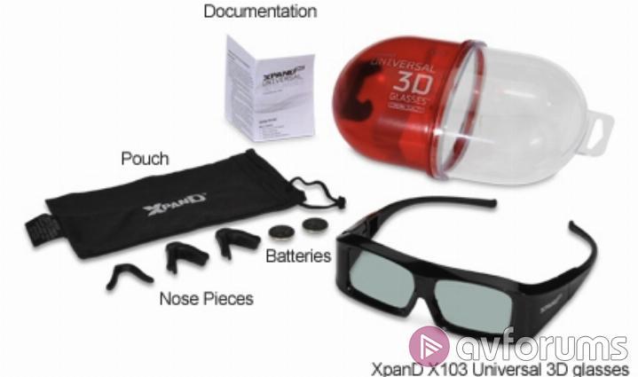 f6e5607832a XpanD X103 Universal Active Shutter 3D Glasses Review
