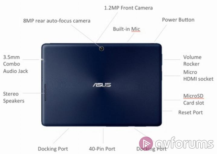 Asus Transformer Pad TF300T Features and Specification
