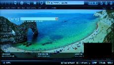Samsung Smart TV System 2012 Web Browsing