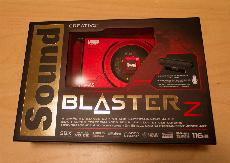 Creative Sound Blaster Z Packaging and Impressions