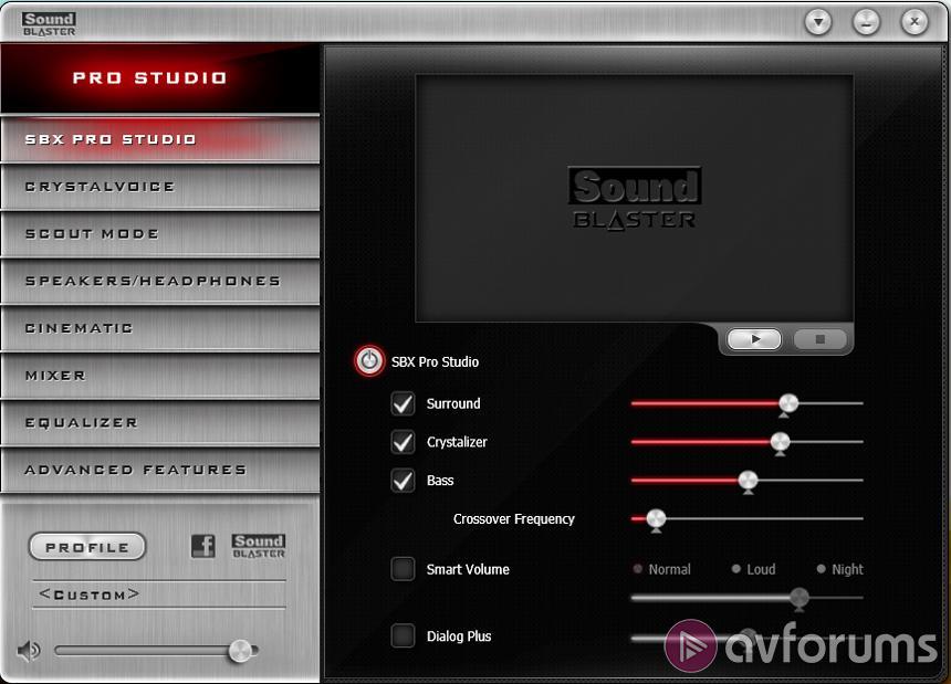 Creative Sound Blaster Z Review   AVForums