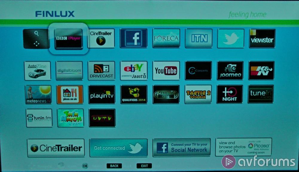 Finlux Smart TV System 2013 Review | AVForums