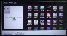 LG Smart TV System 2013 Interface