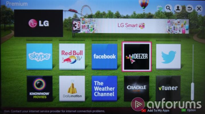 LG Smart TV System 2013 Video-on-Demand