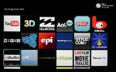 Sony Smart TV System 2013 Applications - Software