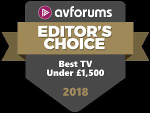 Editor S Choice Awards Best Tvs 2018 Avforums