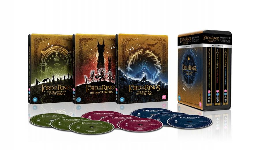 LOTR and Hobbit trilogies coming to 4K UHD