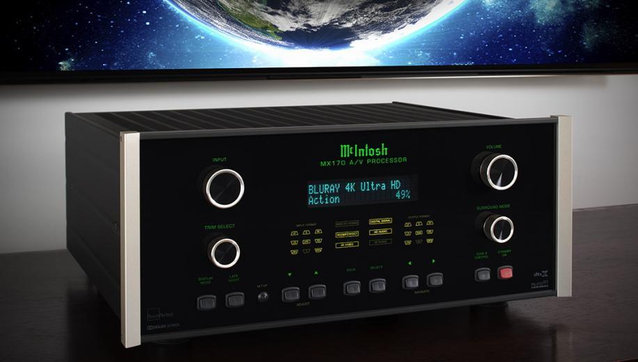 McIntosh announces MX170 and MX123 AV processors and MC255 amplifier