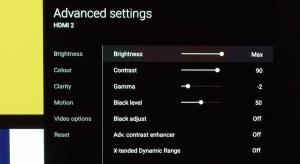 Sony KD-65A1 Best TV Picture Settings