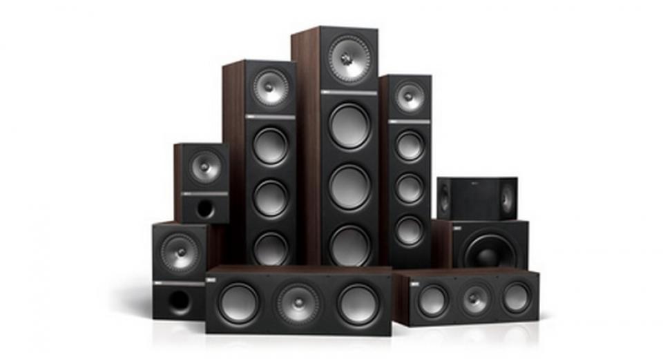 KEF Q700 Surround Sound Speaker Package