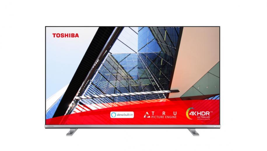Toshiba launches UK4B 4K Alexa enabled TV