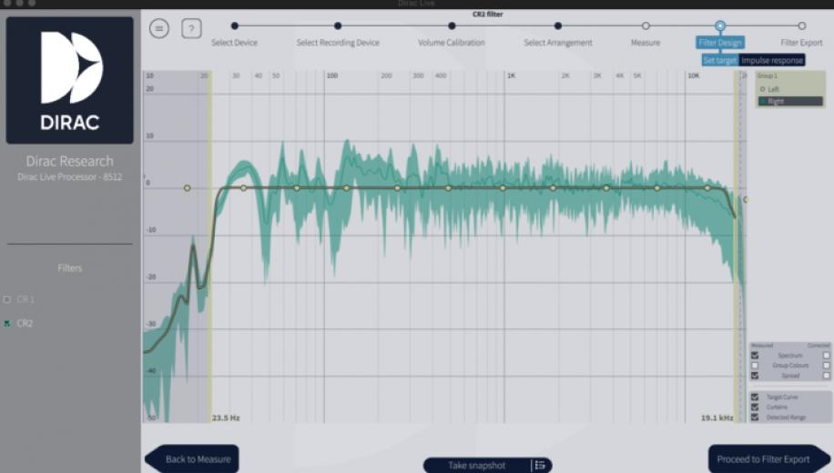 What is Dirac Live Room Correction?