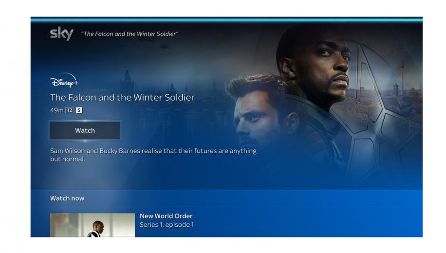 Sky Q expands voice search and navigation options