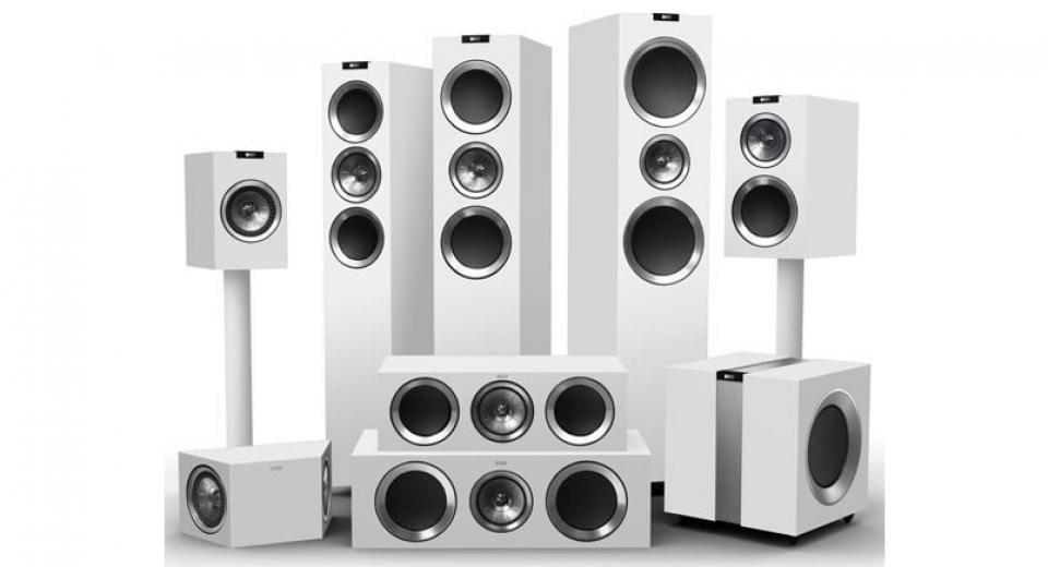 KEF R700 AV 5.1 Speaker Package Review