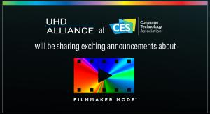 Filmmaker Mode supported by LG, Panasonic and Vizio at CES 2020