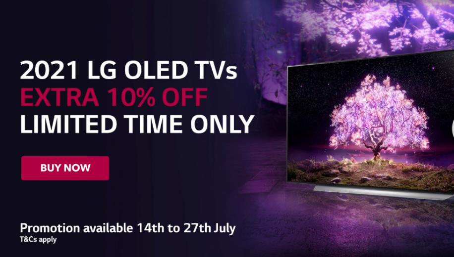 LG 2021 OLED TVs at lower prices for limited period