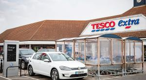 2,400 New Electric Car Charging Bays Across 600 Tesco Stores