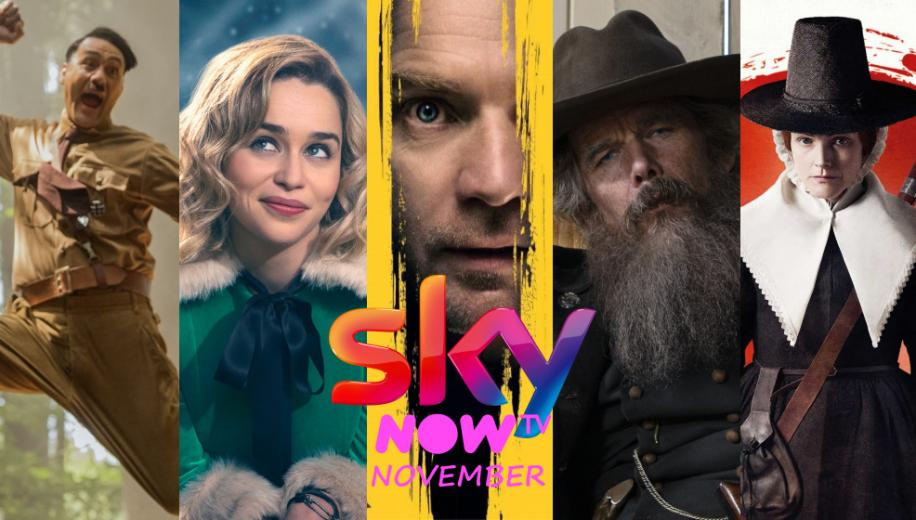 What's new on Sky and NOW TV UK for November 2020
