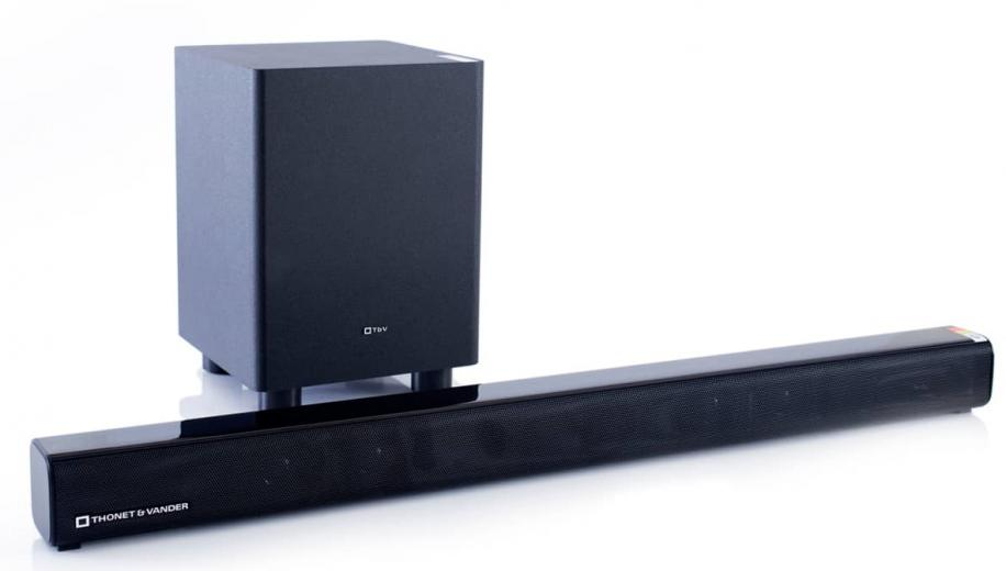Thonet & Vander introduces Dunn soundbar and subwoofer in Europe