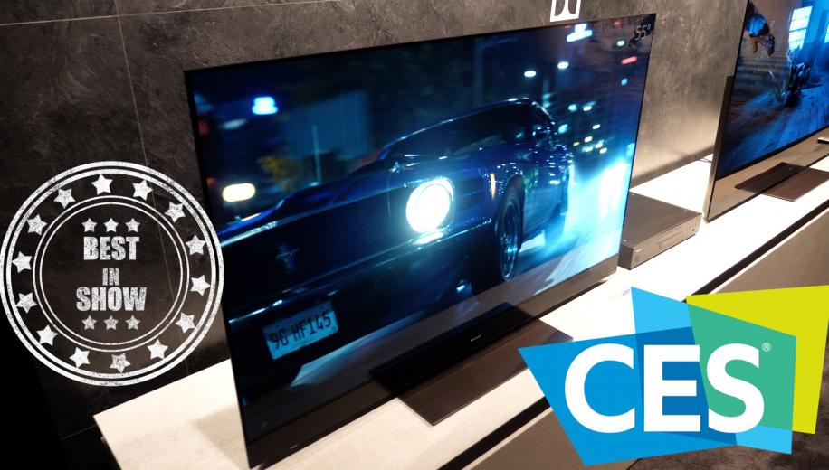 CES VIDEO: Panasonic GZ2000 OLED Closer Look and Stand Tour