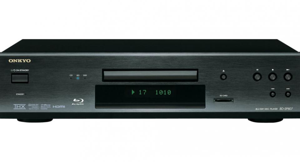 Onkyo BD-SP807 Blu-ray Disc Player Review