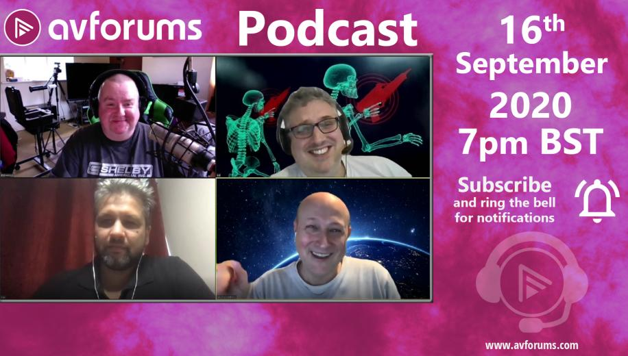 The AVForums podcast is moving to Wednesdays